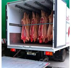 Доставка продуктов питания , температурный режим от +5 до -18 гр