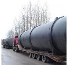 Доставка негабаритных грузов до 45 тонн